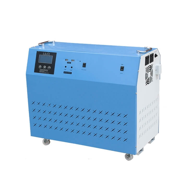 Portable solar generator 1kw 1.5kw 2kw 3KW with battery all-in-one