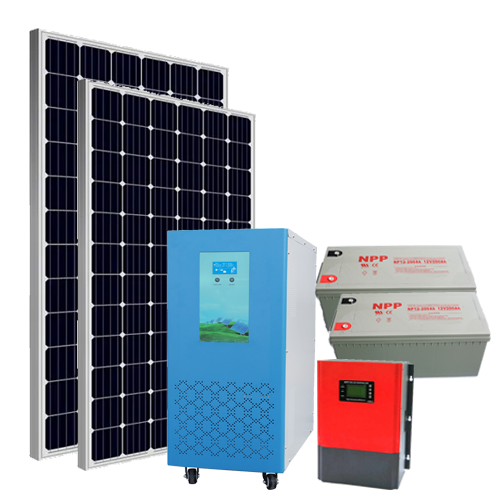 15KW off-grid solar system packages including storage battery bank
