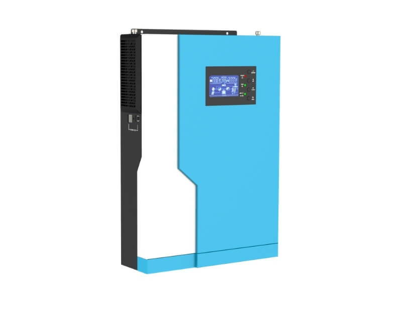 3.5KW 5.5KW hybrid solar inverter with 100A MPPT controller working without battery