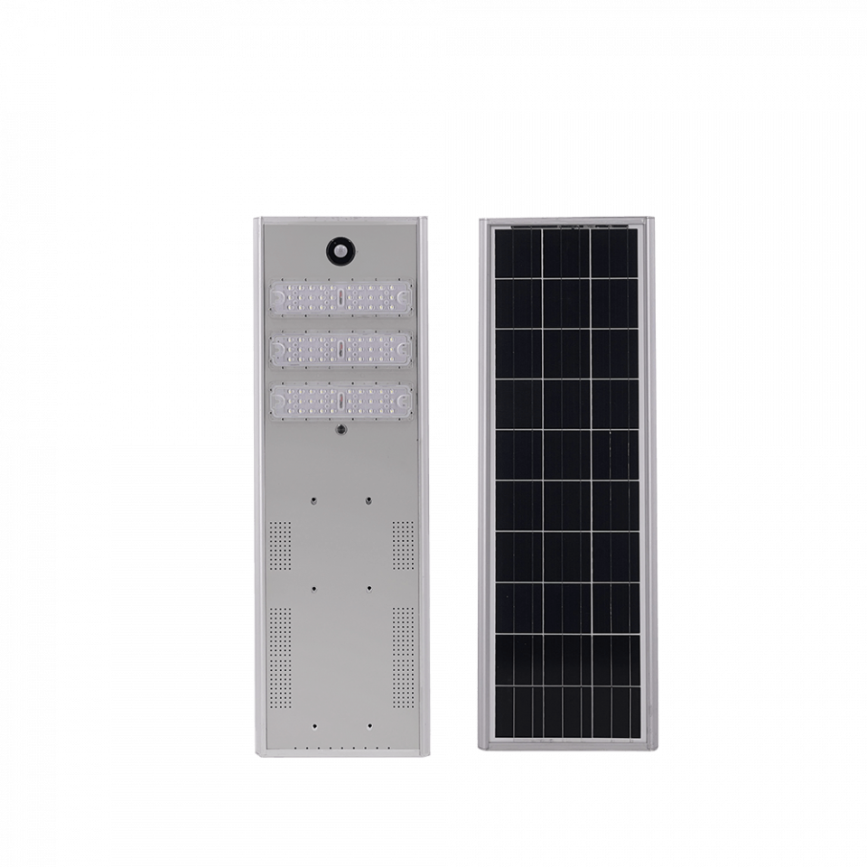 All-in-one solar street light with LiFePo4 battery 40W 60W