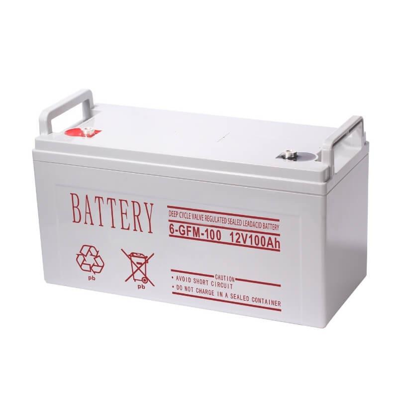 Free-maintenance gel/deep cycle/AMG battery 100AH 150AH 200AH 250AH 12V