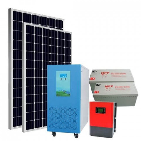 10KW off-grid solar power system for villa house